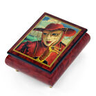 """Handcrafted Ercolano Music Box Featuring """"Fortune Teller"""" By Alex Levin"""