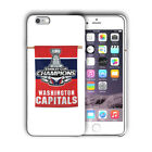 Washington Capitals Champions iPhone 5S 6S 7 8 X XS Max XR 11 Pro Plus SE Case 6 $16.95 USD on eBay