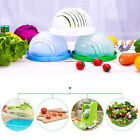 60 Seconds Super Easy SPEED SALAD Maker QUICK CHOP SALAD BOWL Allurefy @@