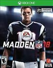 Madden NFL 18 - Xbox One Electronic Arts Video Game