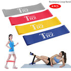4pcs Resistance Loop Band Exercise Yoga Bands Rubber Fitness Training Strength image
