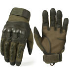 Touch Screen Leather Motorcycle Full Finger Gloves Motorbike Racing Moto Driving