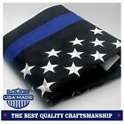 "Thin Blue/Red Line USA American Flag 3""x5"" ft Honouring Law Enforcement Officers"