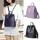 Real Leather Small Mini Backpack Rucksack Daypack Travel bag Purse Anti-Theft