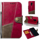 Retro Multifunction Magnetic PU Leather Flip Strap Card Wallet Phone Case Cover