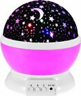 Novelty Starry Star Usb Nightlight Children Baby Flashing Moon Sky Night Light