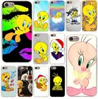funny Tweety Bird cute Hard Phone Cover Case for iphone 5 6 S 7 8 plus X