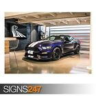 SHELBY GT350 (ZZ015)  CAR POSTER - Photo Picture Poster Print Art A0 A1 A2 A3 A4
