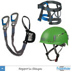 Klettersteigbremse LACD Pro Evo blau+ LACD Harness Easy 2.0 + LACD Protector 2.0