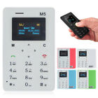 Smallest Cell Phone Credit Card Size Micro SIM Unlocked GSM Mini Mobile Phone