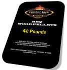 Lumber Jack 2 x 20 lb 100% BBQ Grilling Hardwood Smoking Natural Pellets