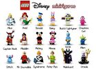 Lego Disney Minifigures #71012- You Choose- Buy 3 get 1 Free! New & Sealed Packs