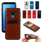 Fr Samsung Galaxy S9 S8 Note8 Leather Wallet Credit Card Hol