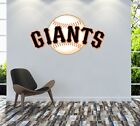 San Francisco Giants Logo Wall Decal MLB Sport Sticker Decor Color Vinyl CG829 on Ebay