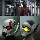 2018 New Ant Man LED Helmet Cosplay Ant-Man and The Wasp LED Helmet Mask Latex