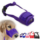 S-2XL Dog Pet Puppy Safety Mouth Cover Muzzle Adjustable Stop Bit Chew Bark