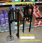 "NEW BICYCLE TRIPLE TREE FORK 1"" THREADLESS DISC OPTION 26"" x 4.0 FAT TIRE"