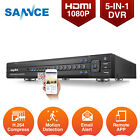 SANNCE 16CH 5in1 HD 1080P Video DVR ONVIF Recorder Security Camera System 0- 4TB