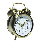 Vintage Retro Old Fashioned Quiet Non-ticking Quartz Analog Twin Bell Clock