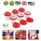 Внешний вид - Egglettes Egg Cooker Hard Boiled Eggs without Shell 6 pcs Eggies Silicone Cups