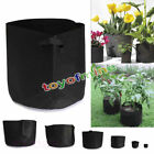 10 Pack Fabric Grow Pots Breathable Plant Bags 1,2,3,5,7,10 Gallon Smart bags CA