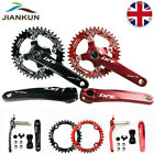 MTB Bike Crankset 170mm 104bcd Chainset Crank Narrow Wide Round Oval Chainring