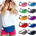 Unisex Running Sport Bum Bag Fanny Pack Travel Waist Money Belt Zip Pouch Wallet