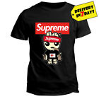 Supreme Cat T Shirt Funny Cat Black T-shirt for Men and Women size S-3XL