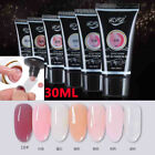 30ML Poly Gel Kit Nail Finger Extension 30ml Clear Pink Polygel Quick Building