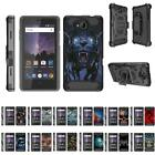 For ZTE Majesty Pro / Majesty Pro Plus Full Body Armor Rugged Holster Clip Case