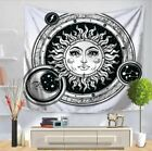 Tapestry Mandala Moon and Sun Wall Hanging Tapestry Bedspread Wall Home Decor