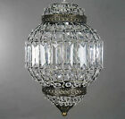 MODERN CEILING CHANDELIER PENDANT LIGHT LAMP SHADE ACRYLIC & K9 CRYSTAL DROP