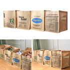 Jute Laundry Bin Box Baskets Store Toys Stationery Clothes f