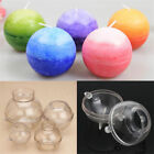 1pc 4/5/6/7.5/8cm Ball Shaped Plastic Candle Mould Soap Molds DIY Tools Craft