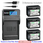 Kastar Battery LCD Charger for Canon BP-718 CG-700 Canon LEGRIA HF M56 Camera