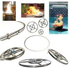 EasyFirePits Lifetime Warr 316 Stainless Round Gas Fire Pit/ Fire Table Burners