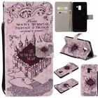 Newest Castle wallet Flip Leather case Skin cover with strap for phone
