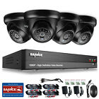 SANNCE Full 1080P 5in1 8CH DVR Video 2MP CCTV Outdoor IR Security Camera System