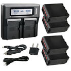 Kastar Battery LCD Dual Fast Charger for Sony NPF950 NP-F960 NP-F970 NP-F990 PRO