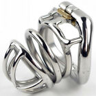 Latest Design Male Chastity Device Bird Cage With Opening And Closing Curve Ring