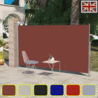 Garden Patio Terrace Side Awning 160/180 x 300 cm 6 Colors Automatic Roll-back