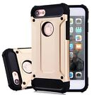 For iPhone 6 / 6S iPhone 7 8 Case - Shockproof Heavy Duty Armour Hybrid Cover