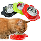 Spill Proof Dog Bowl Stainless Steel Small Dogs Pet Cat Feeding Food Water Bowl