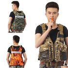 Внешний вид - Fishing Life Jacket Swim Buoyancy Aid Vest Sailing Kayak Safety Swimwear Whistle