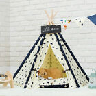 Portable Pet House Indoor Dog Cat Teepee Tent Kennel Easy Clean