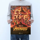 Avengers Thor,Iron Man,Black Widow,Captain America Kraft Paper Poster Picture