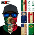 National Flag Neck Gaiter Warmer Face Masks Ski Scarf Bandana Fishing Balaclava