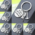 Gift For Dad Uncle Grandpa Birthday Gift Tool Keyring Daddy Papa Keychain Family