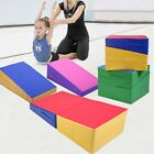"38""/48""/71"" Incline Gymnastics Mat Slope Cheese Gym Exercise Aerobics Tumbling image"
