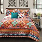 Belize 5 Piece Quilt Set by Lush Decor